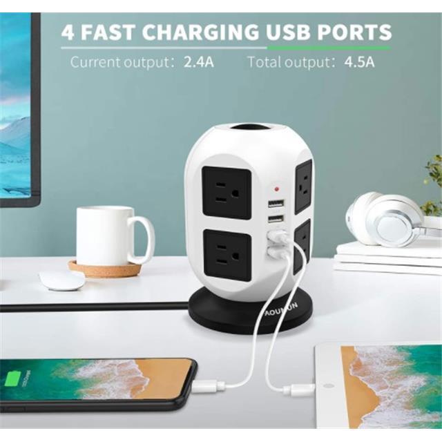 aoumun-8-socket-4-usb-smart-charging-surge-protection-socket-2021-8-18