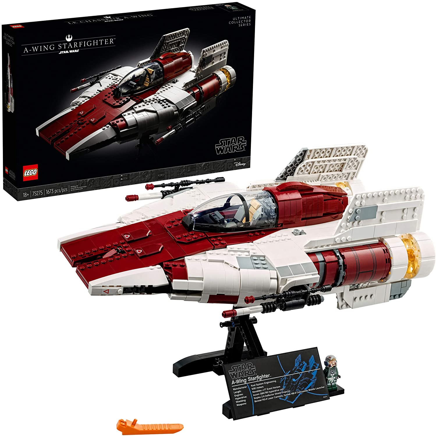 lego-star-wars-a-wing-starfighter-75275-building-kit-collectible-building-set-for-adults-makes-a-cool-birthday-for-star-wars-fans-new-2020-1673-pieces-2021-3-19