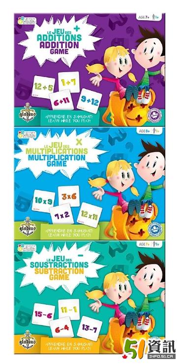 Staples趣味学数学卡片特价$8.97 原价$22.49
