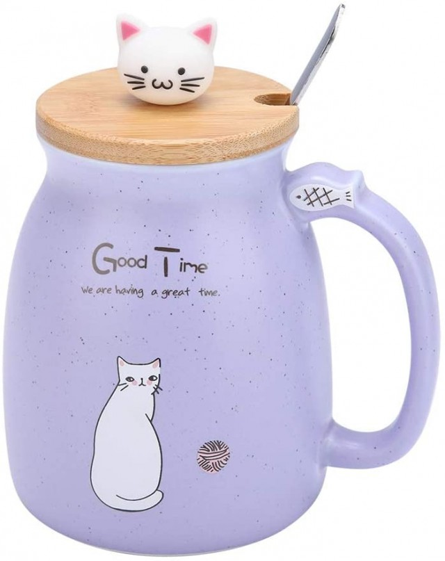 topincn-cute-cat-shaped-ceramic-coffee-cup-with-spoon-and-wooden-lid-2021-4-25