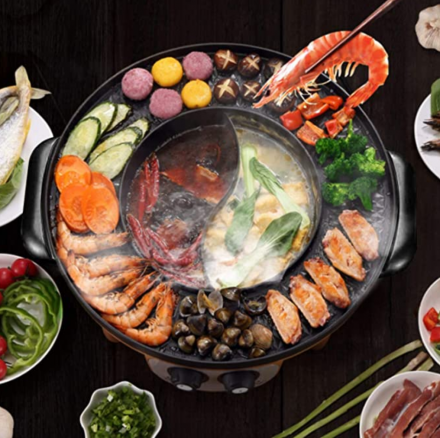 food-party-electric-barbecue-mandarin-duck-hot-pot-all-in-one-machine-is-10-off-2021-4-9